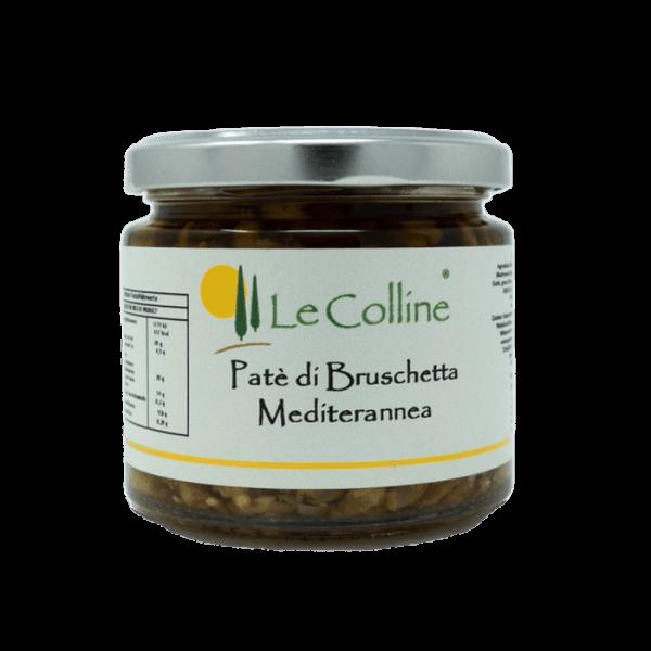 Patè di Bruschetta Mediterranea