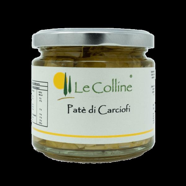 Le Colline Patè di Carciofi - mit Artischoken