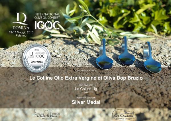 Domina-IOOC-2016-Silver-Medal-DOP-Bruzio-Le-Colline