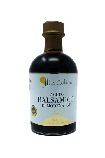 Le Colline Balsamessig aus Modena IGP Oro / Gold 250 ml