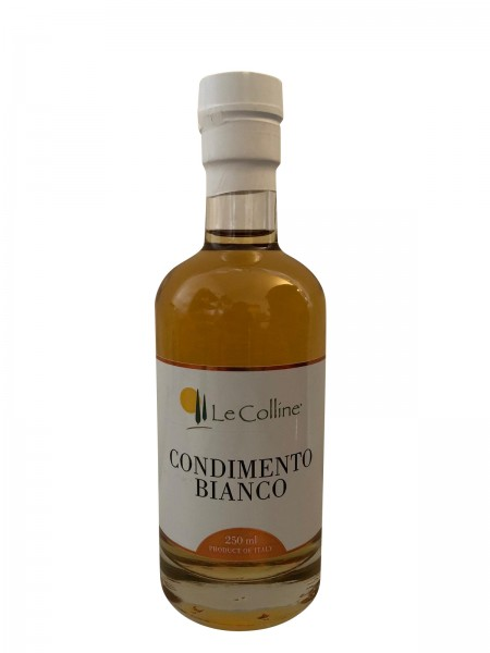 Le Colline Condimento Bianco/Dressing aus Traubenmost & Weißweinessig 250 ml